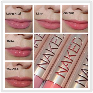 Urban Decay Naked Ultra Nourishing Lipgloss Review