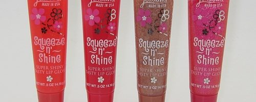 Jordana Squeeze and Shine Super Shiny Tasty Gloss Review