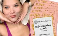 Luscious Korean Face Mask - K Beauty Collagen Facial Sheet Mask with Astaxanthin for Instant Luminous Brightening & Hydrating Skin Care Facemask - Get Your Radiant Silky Smooth Skin Now…