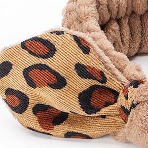 Bowknot Leopard Spa Headbands