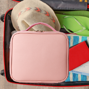 Waterproof Portable Artist Makeup Storage Bag with Shoulder Strap Travel Makeup Bag for Women