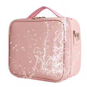 Cosmetic Bags 3 Layer Cosmetic Organizer Makeup Case Beauty Artist Storage Brush Box Shoulder Strap