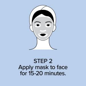 apply face mask